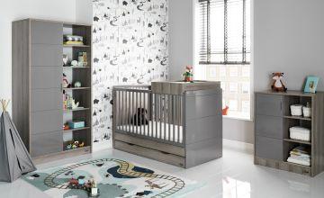 Obaby Madrid 3 Piece Nursery Furniture Set - Eclipse