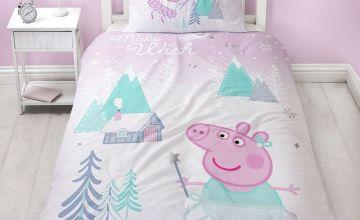 Peppa Pig Sugarplum Christmas Bedding Set
