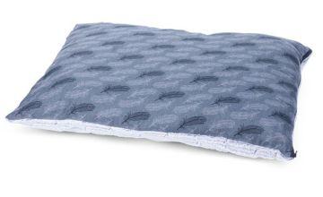 Petface Grey Feather Pillow Mattress - Medium