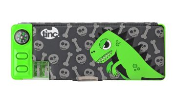 Tinc Dinosaur Compartment Pencil Case