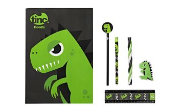 Tinc Dinosaur Stationery Gift Set