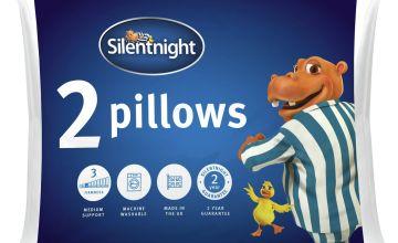 Silentnight Essentials Rolled Soft Pillow - 2 Pack