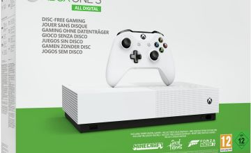 Xbox One S All Digital Console Minecraft & 2 Game Bundle