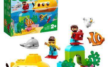 LEGO DUPLO Town Submarine Adventure Bath Toy 10910