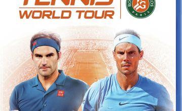 Tennis World Tour: Roland Garros Edition PS4 Game