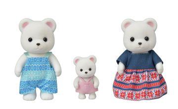 Sylvanian Families Polar Bear Family - 3 Figures