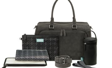 Zellie Elba Changing Bag Set - Grey