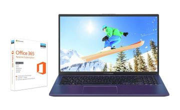ASUS VivoBook 15 X512 15.6in Pentium 4GB 256GB Laptop - Blue