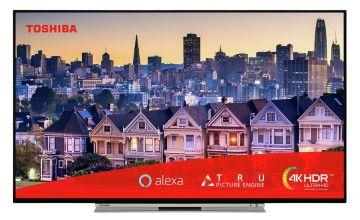 Toshiba 49 Inch 49UL5A63DBS Smart 4K Alexa TV with HDR