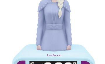 Lexibook Disney Frozen 2 Night Light Alarm Clock