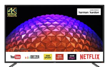 Sharp 55 Inch LC-55UI7252K Smart 4K HDR LCD TV