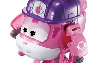 Super Wings Transforming Rescue Dizzy