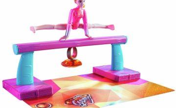 Team GEM Magic Gemtastic Balance Beam and Gymnast Doll Amber