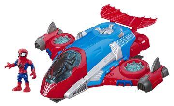 Super Hero Adventures Spider-Man Jet Quarters