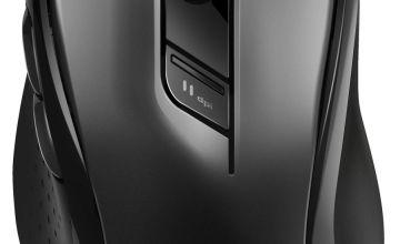 Rapoo M500 Silent Multi-Mode Wireless Mouse - Black