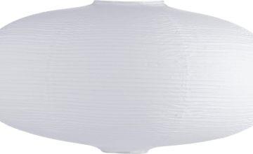 Habitat Shiro Paper Pendant Shade - White