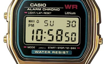 Casio  Gold Stainless Steel Bracelet Watch