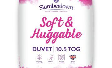 Slumberdown Soft and Huggable 10.5 Tog Duvet