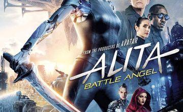 Alita: Battle Angel Blu-Ray