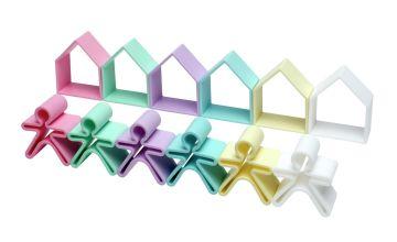 Dena 12 Piece Silicone Sensory Toy Set