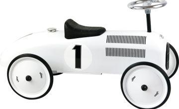 Vilac Polar White Ride On Metal Car