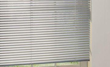 Argos Home Aluminium Venetian Blind - Silver