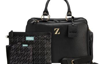 Zellie Woburn Adventure Bag Set - Black
