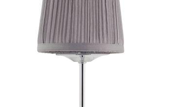 Argos Home Le Marais Pleated Bedside Lamp