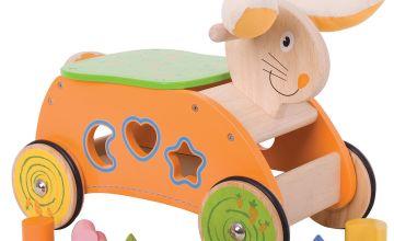 Baby Bigjigs Bunny Ride-on