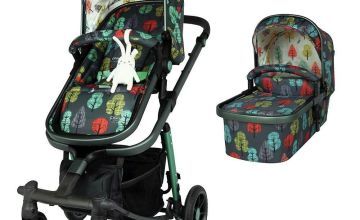 Cosatto Giggle Quad Pram & Pushchair - Hare Wood