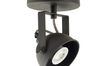 Argos Home Loft Living Single Spotlight - Black