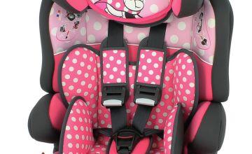 Disney Minnie Mouse Beline SP LX Group 1/2/3 Car Seat - Pink