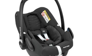 Maxi-Cosi Rock Group 0+ i-Size baby Car Seat -Scribble Black