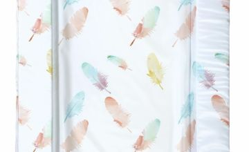 East Coast Nursery Feathers Changing Mat - Coral