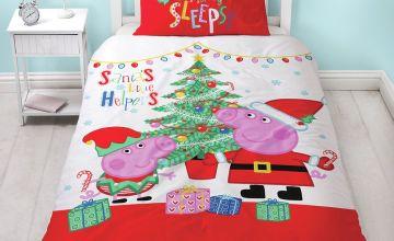 Peppa Pig Noel Bedding Set - Single