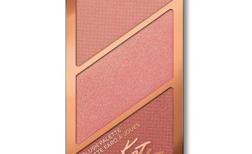 Rimmel Scuplting Blush Palette, Golden Bronze - 18.5g