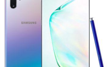 SIM Free Samsung Galaxy Note10+ 5G 256GB Mobile Phone –Glow