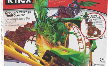 K'NEX Dragon Revenge Roller Coaster Playset