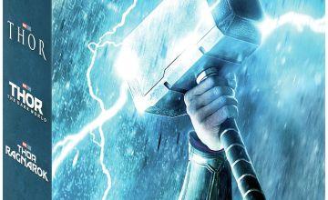 Marvel's Thor Trilogy 4K UHD Blu-Ray Box Set