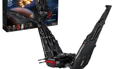 LEGO Star Wars Kylo Ren's Shuttle Building Set - 75256