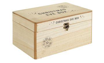 Argos Home Wooden Christmas Eve Box
