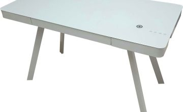 Koble Silas Bluetooth Desk with wireless charging capability