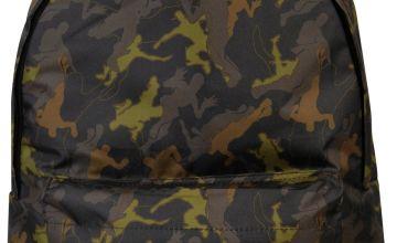 Fortnite Camouflage 17.3L Backpack - Black