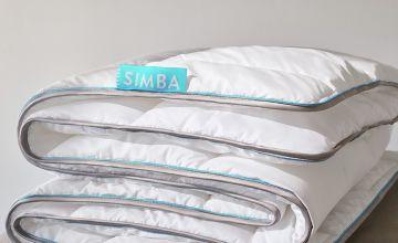 Simba Sleep Hybrid with Stratos Duvet