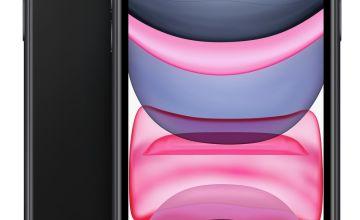 SIM Free iPhone 11 256GB Mobile Phone  - Black