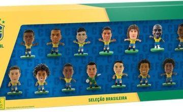 SoccerStarz Brazil 15 Team Figurine Pack.