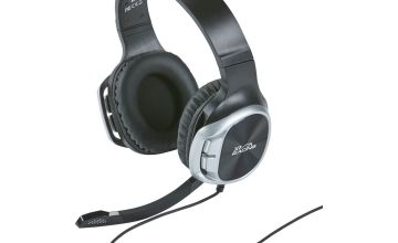 X-Rocker XH4 Xbox One, PS4, Switch Racing Headset - Black