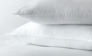 Argos Home Stain Resistant Medium Pillow - 2 Pack