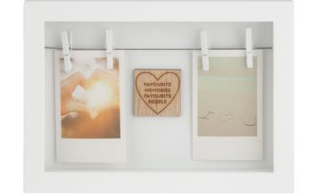 Memories Dual Peg Photo Frame