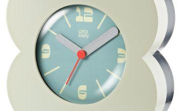 Orla Kiely Alarm Clock - Cream